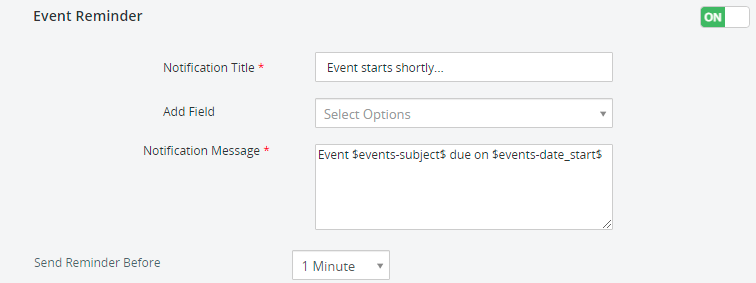 event-reminder